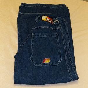 Vintage KikWear 91 Wide Leg ButtonFly Jeans sz 5